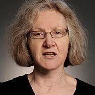 Headshot of Professor Emerita, Nell Tenhaaf.