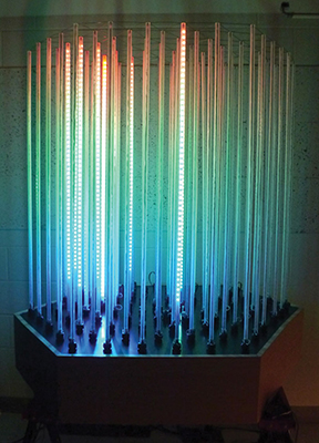 Image of art work ICECUBE LED Display [ILDm^3].